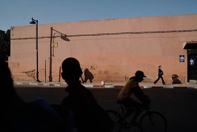 Marrakesh Medina, Street Scene.Marrakesh-Tensift-El Haouz, Morocco