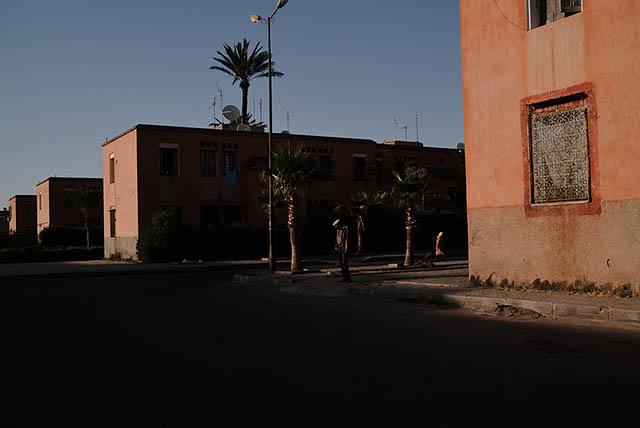 A neighbourhood in Marrakesh.Marrakesh-Tensift-El Haouz, Morocco