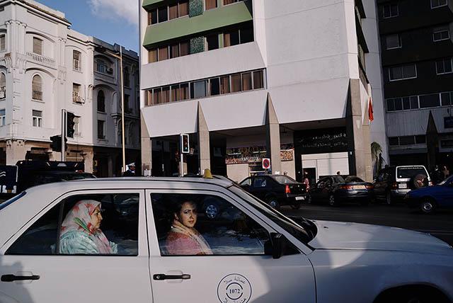 City of Rabat, Street scene. Rabat-Salé-Zemmour-Zaer, Morocco