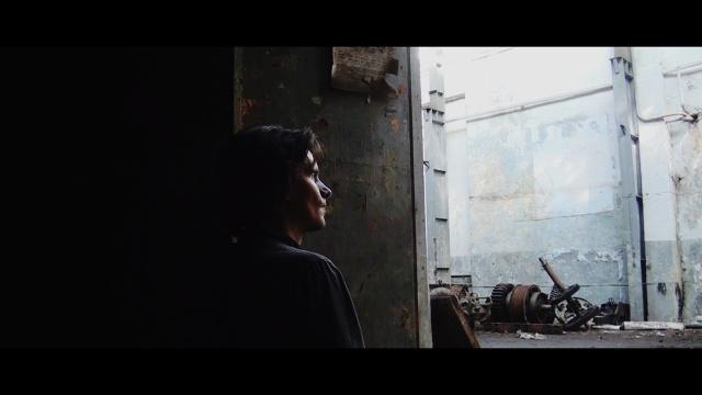 7. Mart Aas acting in Wesman's film 2014